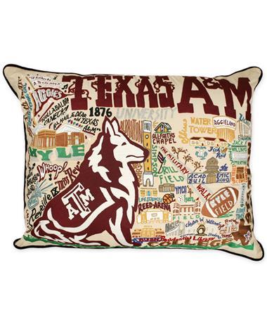 Texas A&M CatStudio XL Pillow
