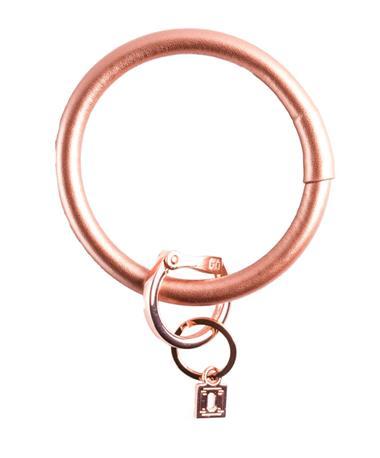 Big O Key Rings Signature Smooth Leather