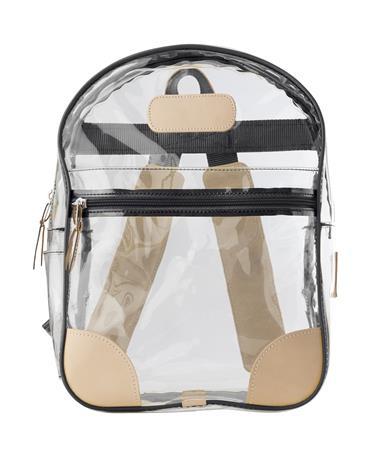 Jon Hart Black Clear Backpack