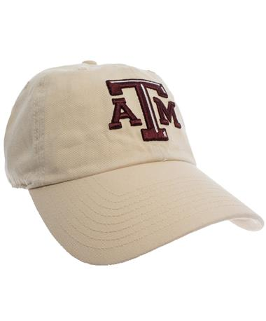 Texas A&M '47 Brand Beveled Clean Up Cap