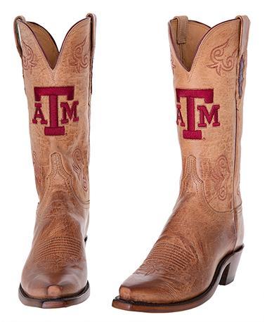 Texas A&M Lucchese Women's Tan Boots
