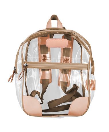 Jon Hart Saddle Clear Backpack