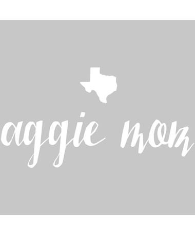 Texas Aggie Mom Decal