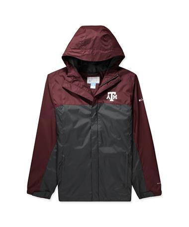 Texas A&M Columbia Glennaker Storm Jacket