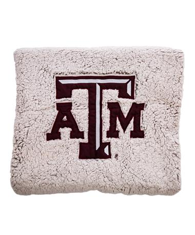 Texas A&M Aggies Heathered Sherpa Blanket