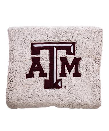 Texas A&M Aggies Heathered Sherpa Blanket
