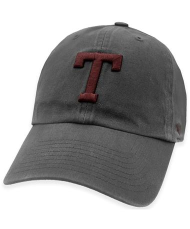 Texas A&M '47 Brand Block T Charcoal Clean Up Hat