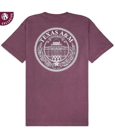 Texas A&M Academic Building Seal T-Shirt