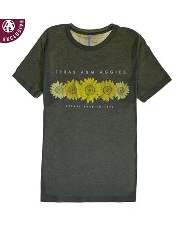 Texas A&M Aggies Sunflower T-Shirt