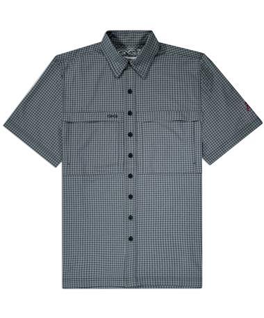 Texas A&M GameGuard GunMetal Men's TekCheck Shirt
