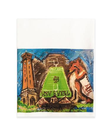 Texas A&M Heidi Hensley Tea Towel