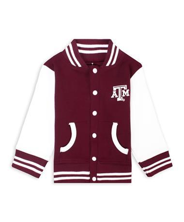 Texas A&M Lil' Ags Varsity Jacket
