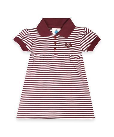 Texas A&M Aggies Striped Dress & Bloomers Set