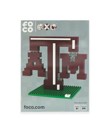 Texas A&M 3D Logo Lego Set