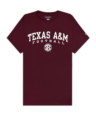 Texas A&M Champion Football SEC T-Shirt