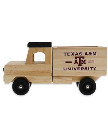 Texas A&M Wooden Toy Truck