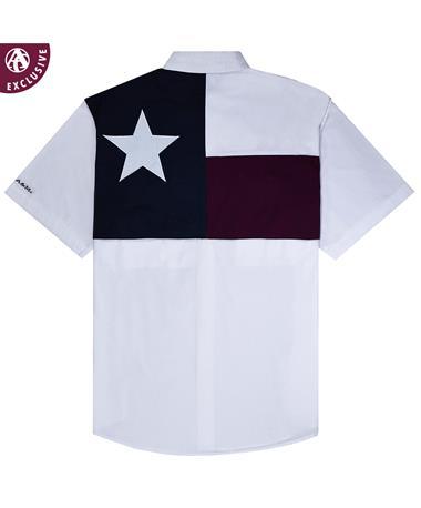 Texas A&M Aggie Youth Flag Fishing Shirt