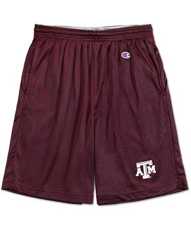 Texas A&M Champion Mesh Shorts