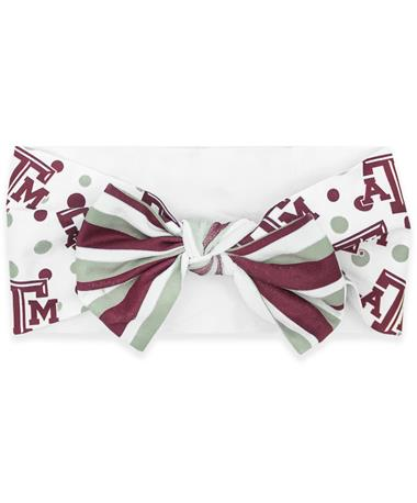 Texas A&M Tied Headband