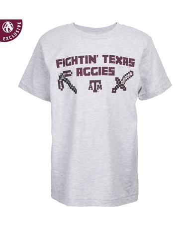 Texas A&M Fightin' Maroon Craft Youth T-Shirt