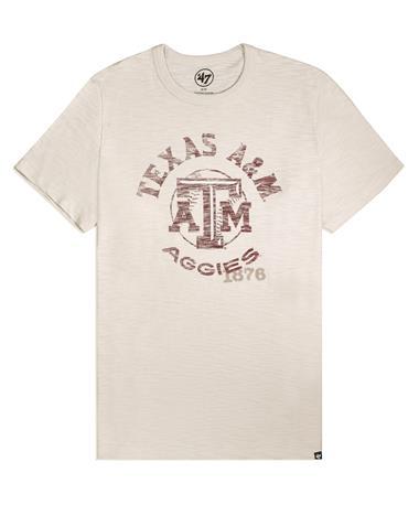 Texas A&M '47 Brand Impress Baseball T-Shirt