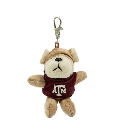 Texas A&M Wild Bunch Maroon Tee Bulldog Keytag