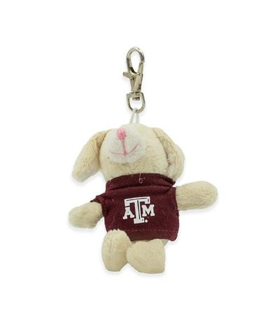 Texas A&M Wild Bunch Maroon Tee Bunny Keytag
