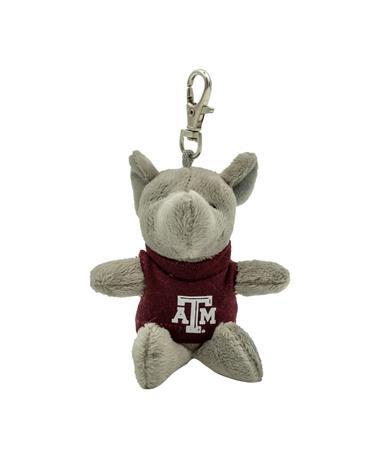 Texas A&M Wild Bunch Maroon Tee Elephant Keytag