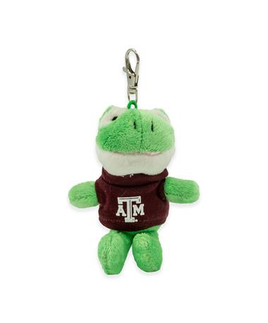 Texas A&M Wild Bunch Maroon Tee Frog Keytag