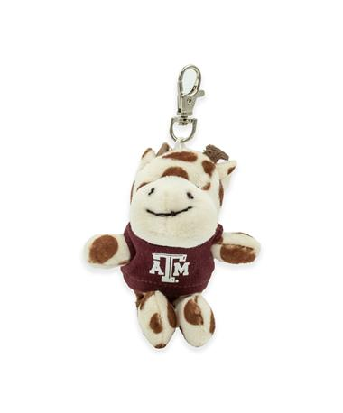 Texas A&M Wild Bunch Maroon Tee Giraffe Keytag