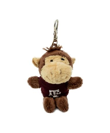 Texas A&M Wild Bunch Maroon Tee Monkey Keytag