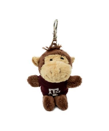 Texas A&M Wild Bunch Maroon Tee Monkey Keytag