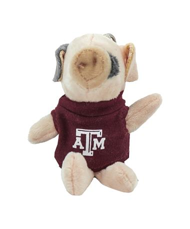 Texas A&M Wild Bunch Pig Keychain