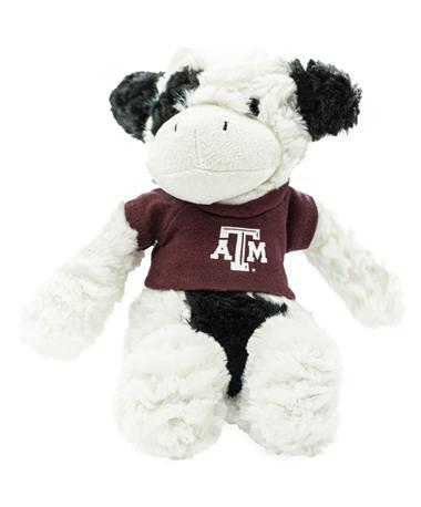 Texas A&M Fuzzy Bunch Cow Stuffed Animal
