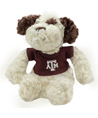 Texas A&M Fuzzy Bunch Dog Stuffed Animal