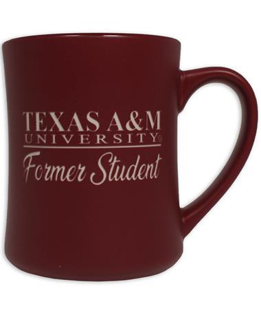 Texas A&M Former Student Matte Diner Mug
