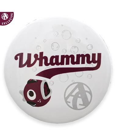Whammy Bubbles Baseball Button