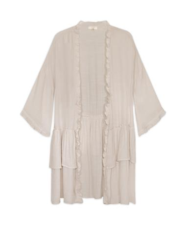 Lightweight Natural Kimono Cardigan