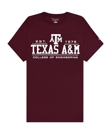 Texas A&M Champion College of Engineering T-Shirt