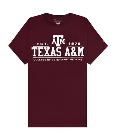 Texas A&M Champion College of Veterinary Medicine T-Shirt