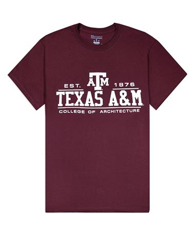 Texas A&M Champion College of Architecture T-Shirt