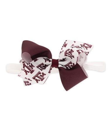 Texas A&M Bow Headband
