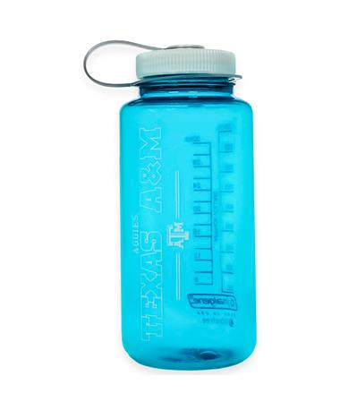 Texas A&M 32oz Trout Green Nalgene Water Bottle