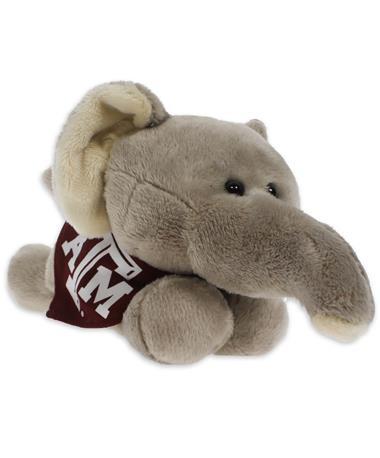 Texas A&M Short Stack Plush Elephant