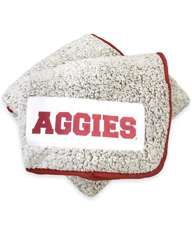 Texas A&M Frosty Fleece Throw Blanket