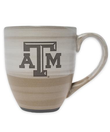 Texas A&M Reactive Color Clay Ceramic Mug