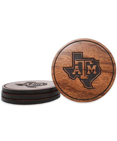 Texas A&M Lone Star Coasters