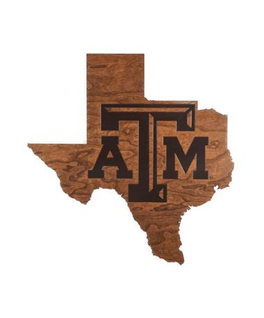 Texas A&M Lone Star Wall Decor