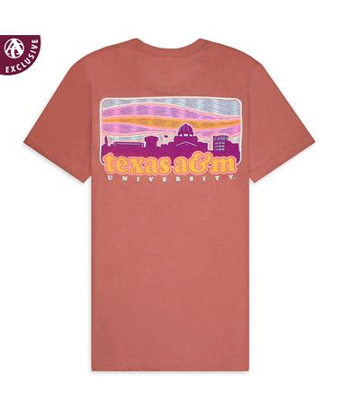 Texas A&M Love This Place Skyline T-Shirt