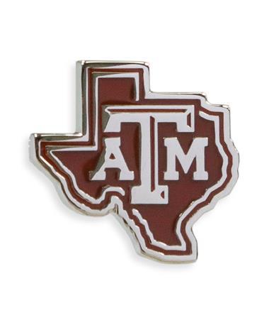 Texas A&M Lone Star Lapel Pin